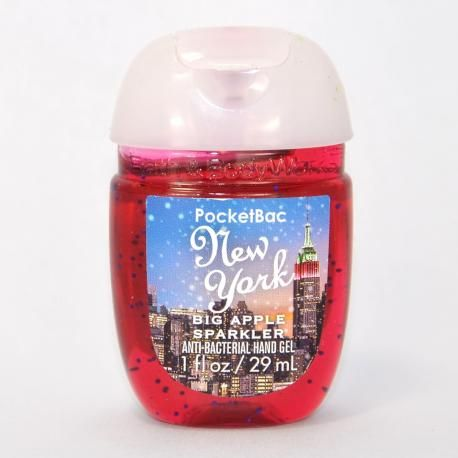 Gel Antibacterien New York Big Apple Sparkle Bath And Body Works