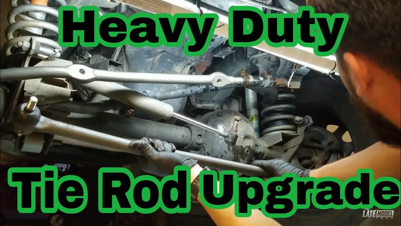 Jeep Xj Tj Tie Rod Upgrade Zj Grand Cherokee Parts Youtube