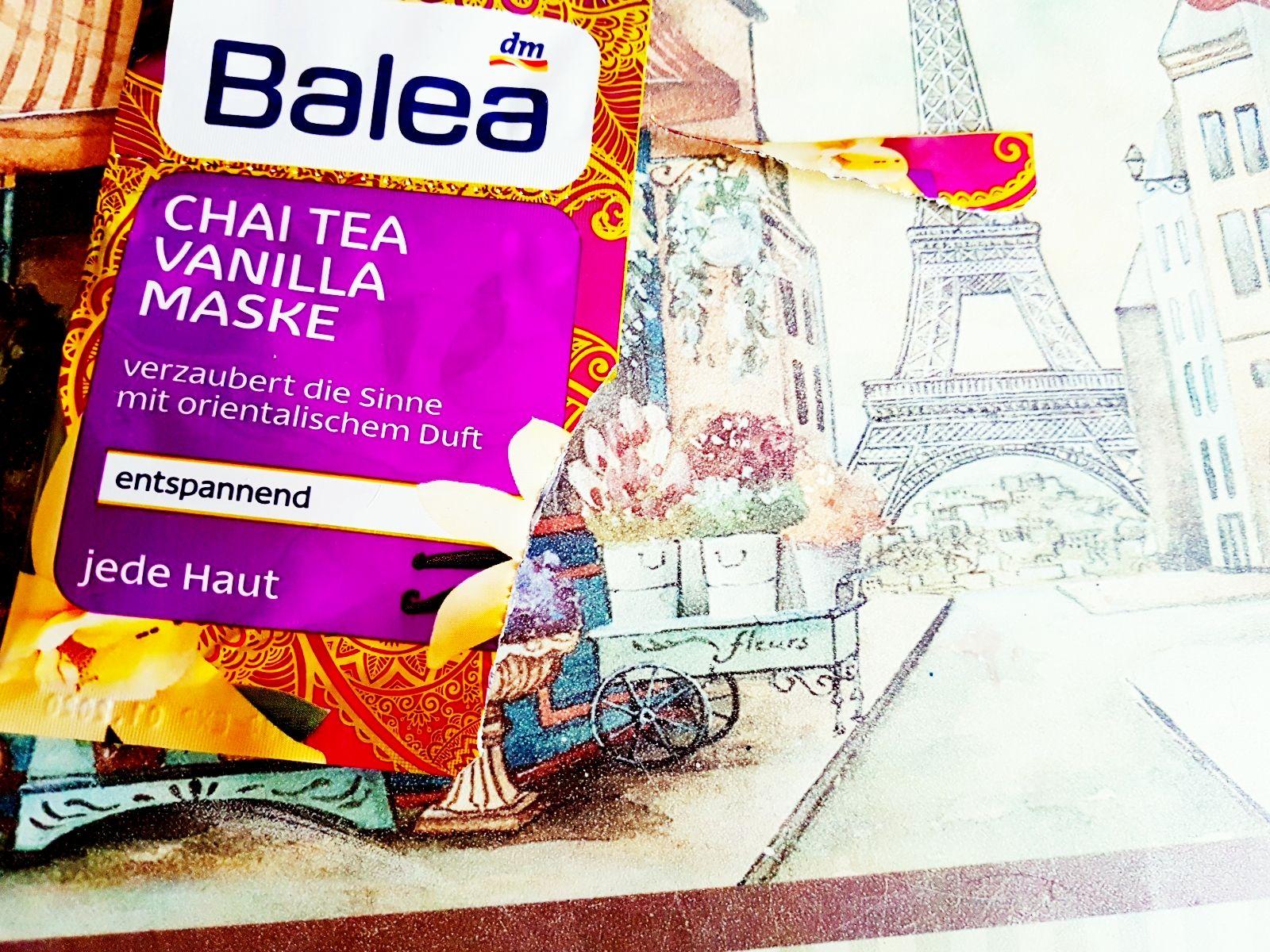 Chai Tea Vanilla Maske von Balea