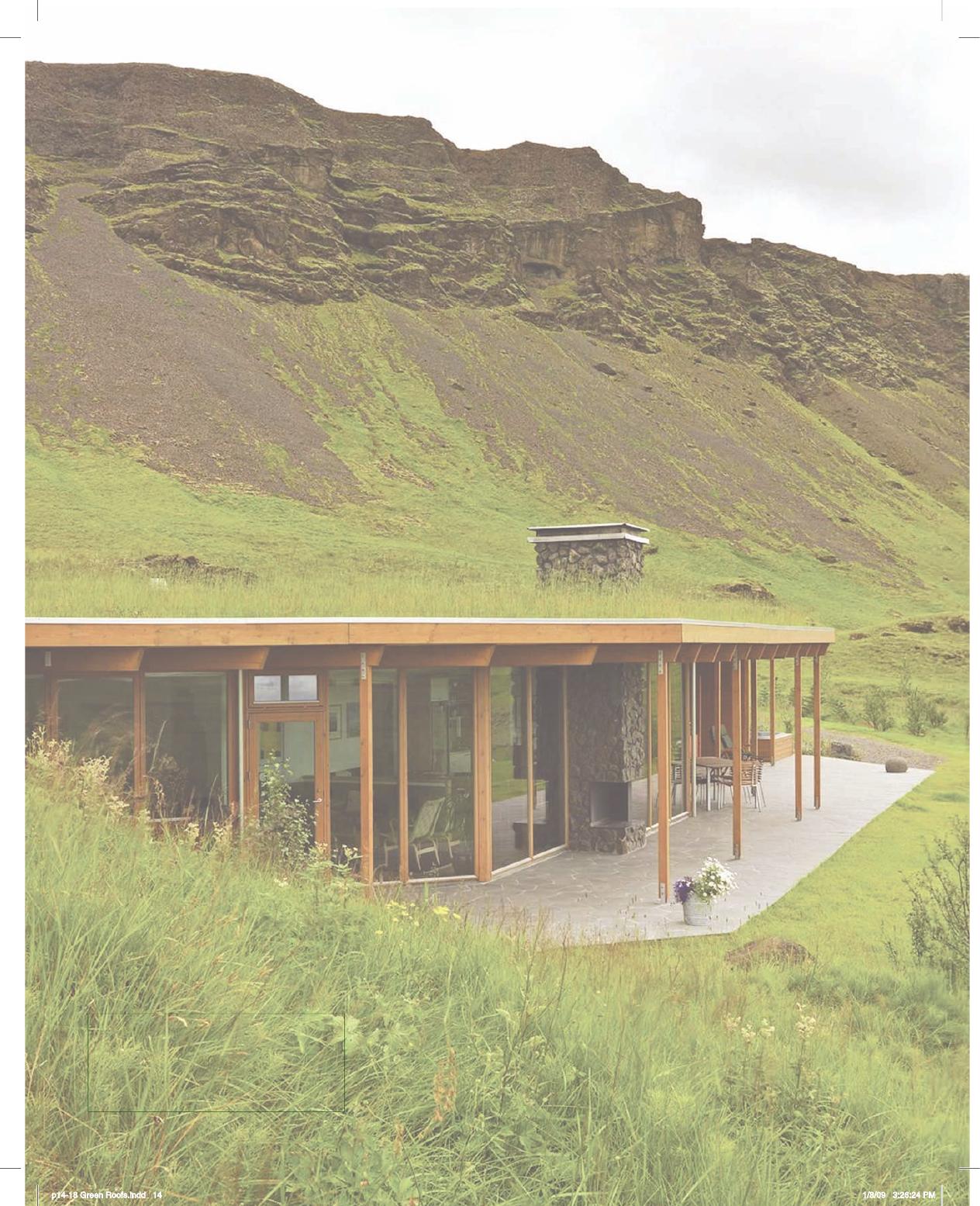 Award Winning Cottage House Plans: Award Winning, Green Roof Summer House, Island