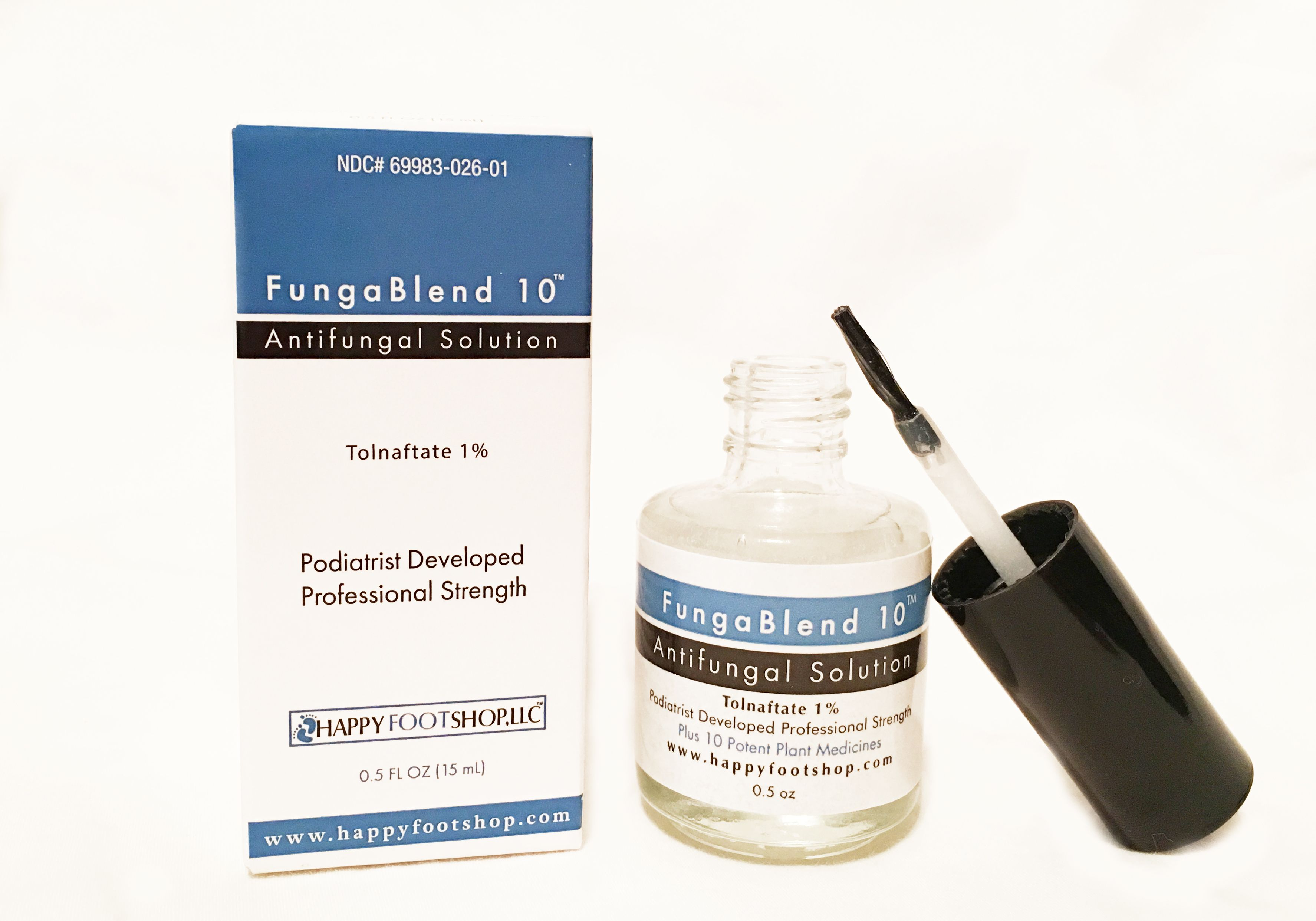 The first topical nail fungus treatment that blends 10 proven strongest plant medicines with 1% Tolnaftate. Plant medicines and Tolnaftate as stand- alone ...
