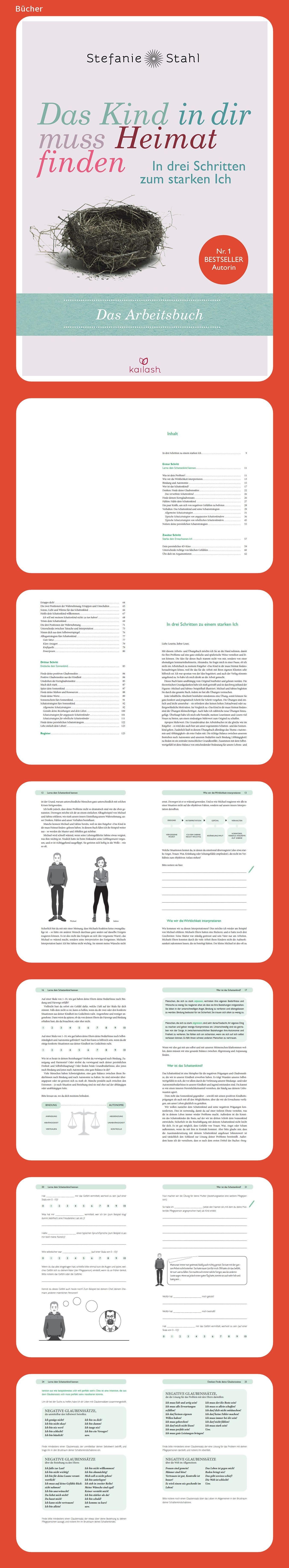 Das Kind In Dir Muss Heimat Finden In Drei Schritten Zum Starken Ich Das Arbeitsbuch Deutsch Bucher Kinder Arbeit
