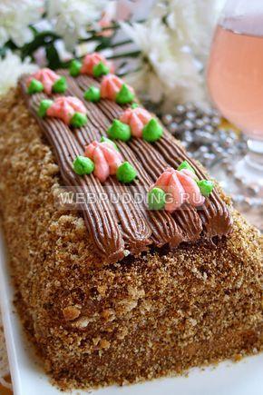 Торт «Сказка» в домашних условиях: рецепт с фото пошагово ...