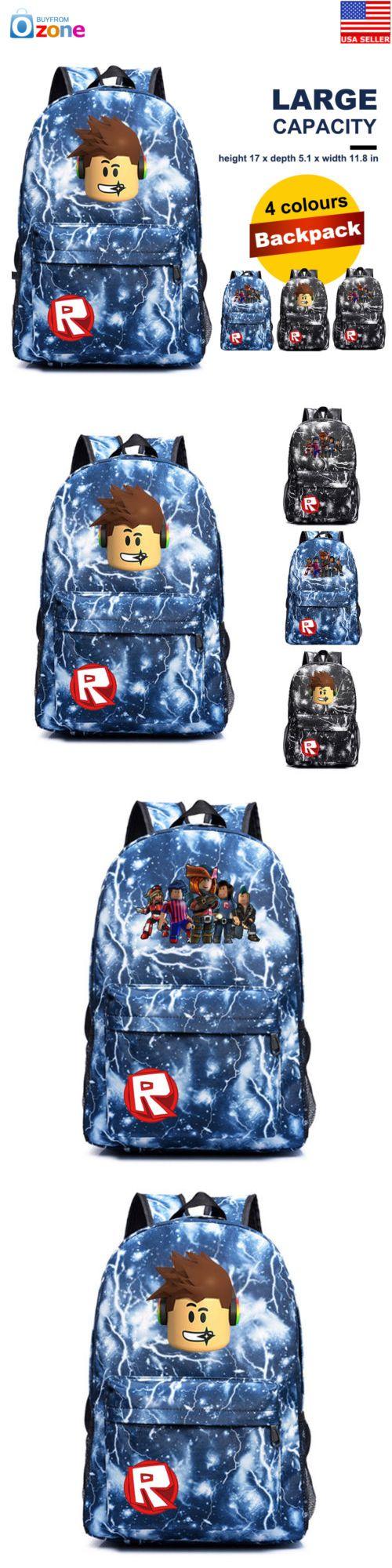 4bf30330742 Backpacks and Bags 57882  Roblox Backpack Kids Schoolbag Students Boys  Gaming Bookbag Travelbag Handbag -  BUY IT NOW ONLY   24.99 on  eBay   backpacks ...