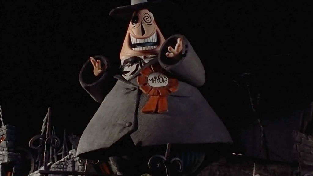 Image result for nightmare before christmas major