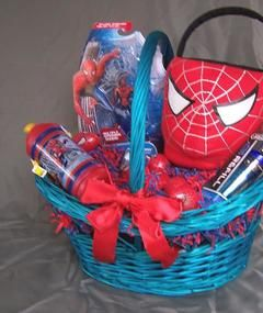 Spider man easter basket easter pinterest the hunt is on wal mart offers easter basket theme trends to bring egg citement for all ages negle Gallery