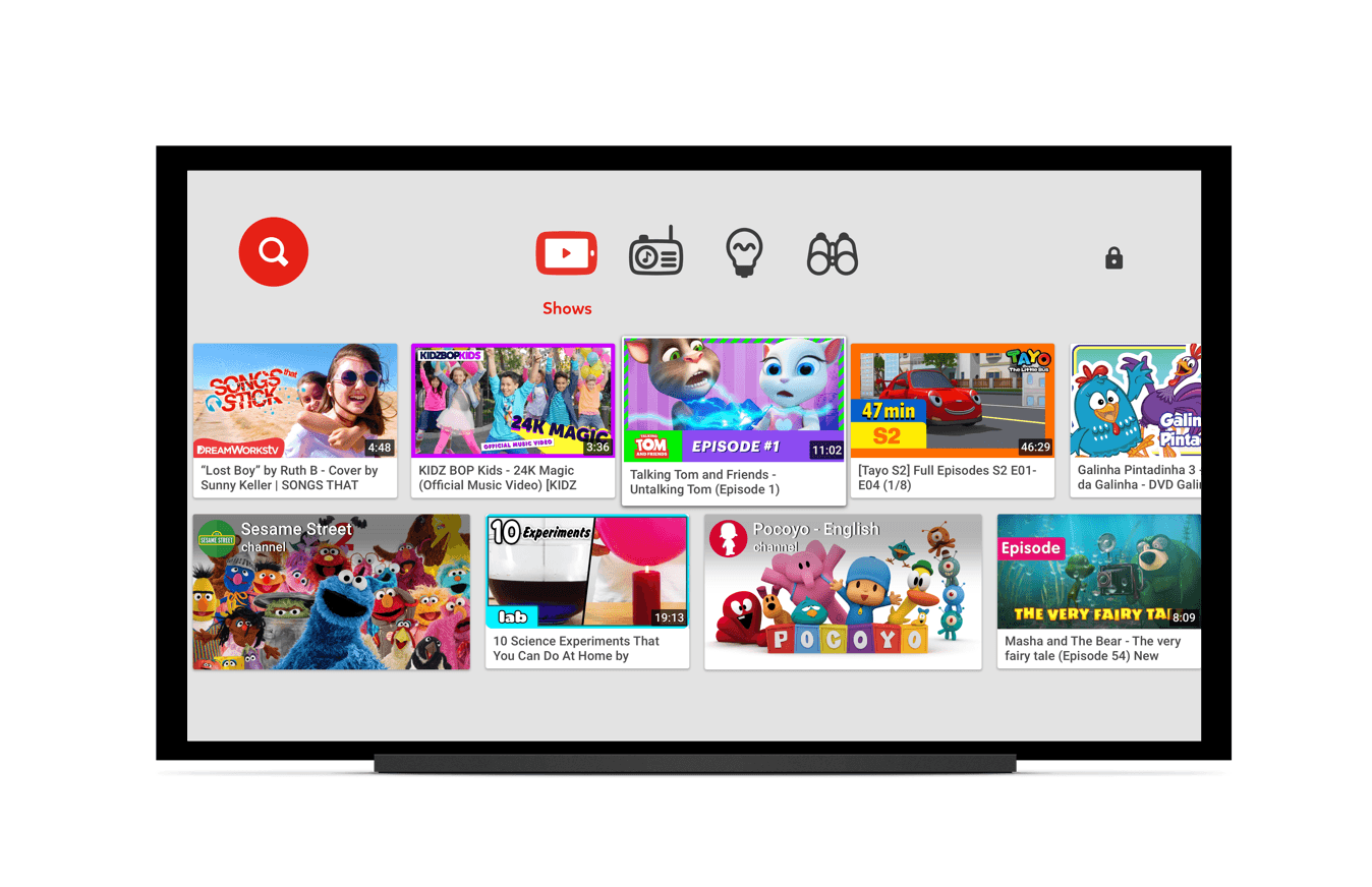 YouTube Kids app lands on LG, Samsung, Sony Smart TVs