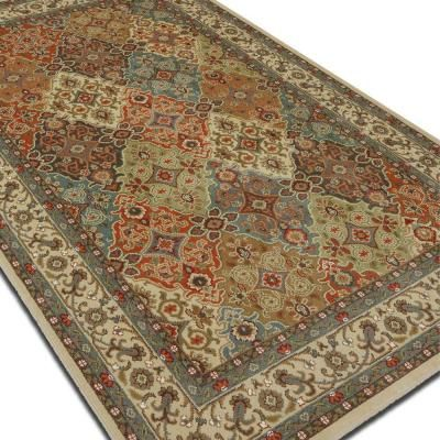 Home Decorators Collection Persia Almond Buff 8 Ft X 10 Ft Indoor Area Rug 441715 The Home Depot Area Rugs Pottery Barn Rugs Rugs