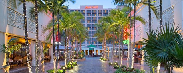 Boca Raton Marriott at Boca Center | Vacation deals, Boca ...