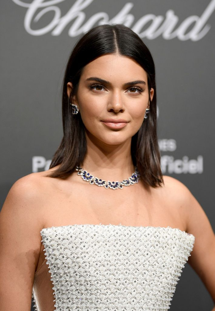 Kendall Jenner Photos Photos Chopard Space Party Photocall The 70th Cannes Film Festival Kendall Jenner Hair Jenner Hair Kendall Jenner Short Hair