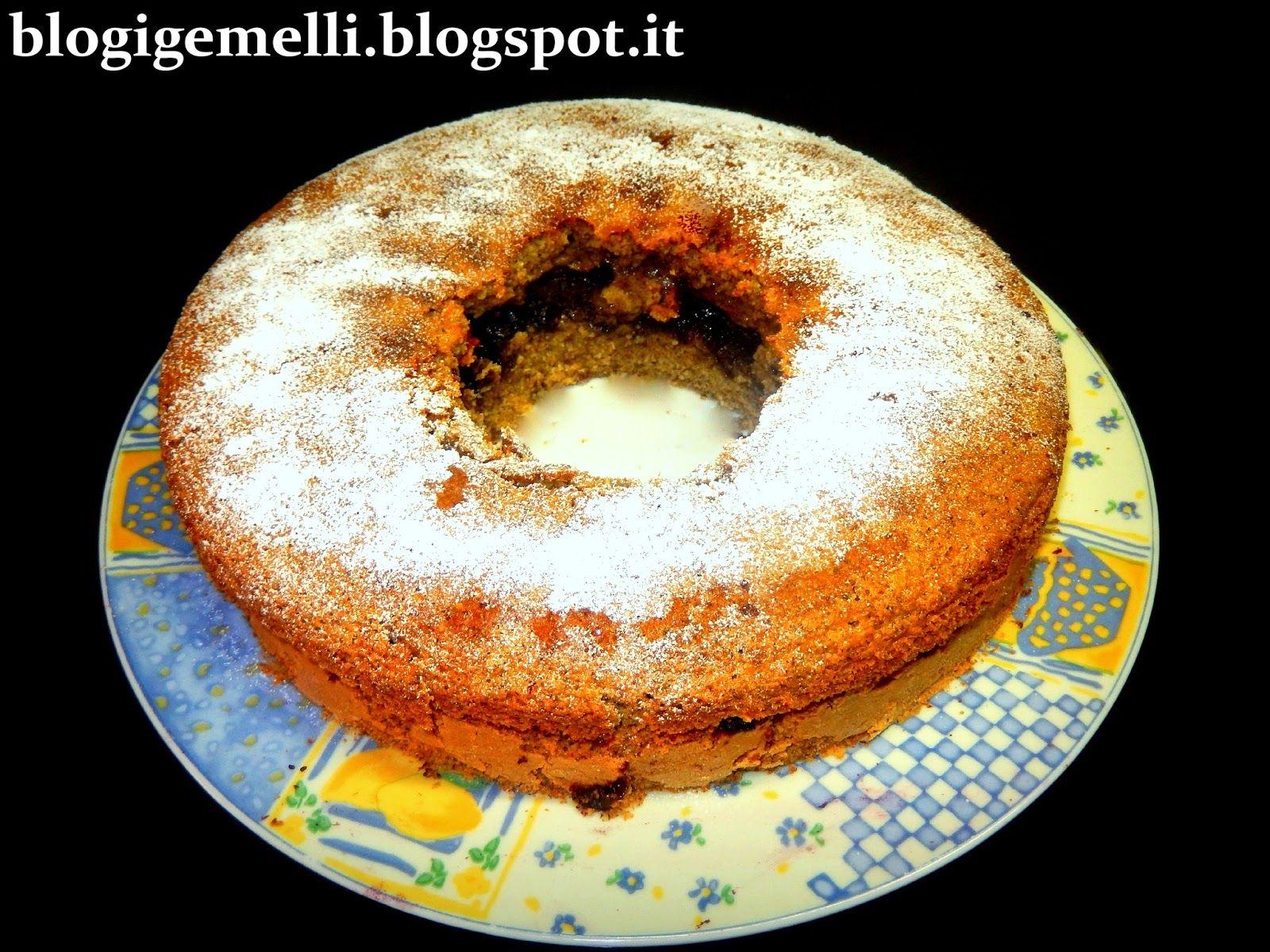 Ciambellone di grano saraceno con confettura biologica ai mirtilli http://blogigemelli.blogspot.it/2014/07/ciambellone-di-grano-saraceno-con.html#more