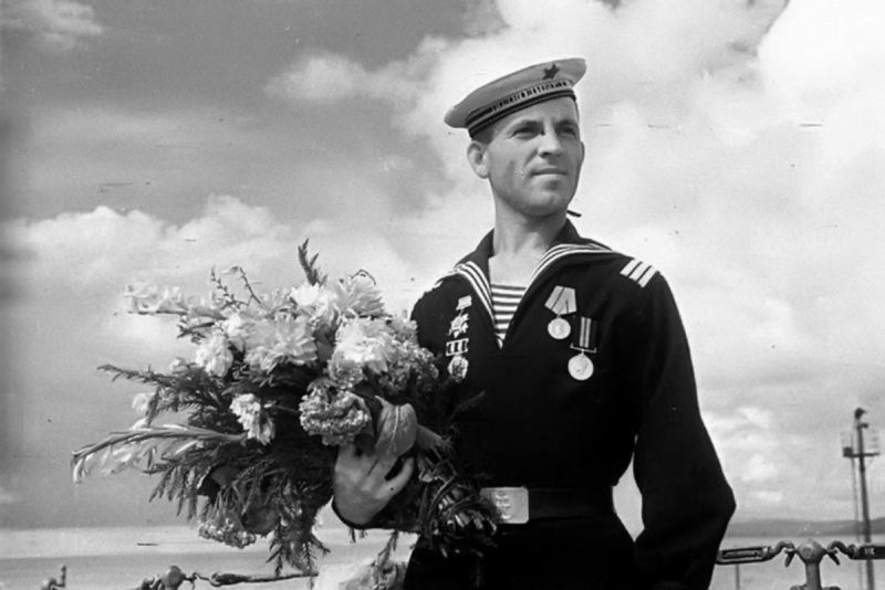 черно белые фото моряков рада
