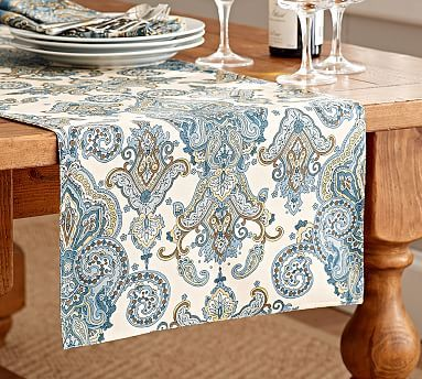 Superbe Mansfield Table Runner #potterybarn