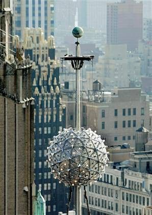 Wildflowers New Years Eve Ball Times Square New York New Years