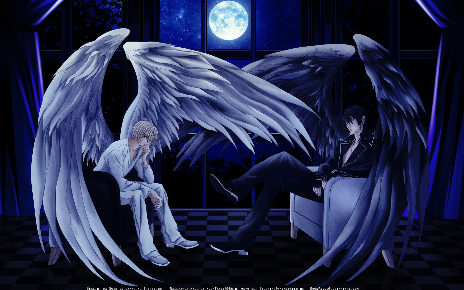 Http Hdw Datawallpaper Com Anime All Of My Angels Wide Wallpaper