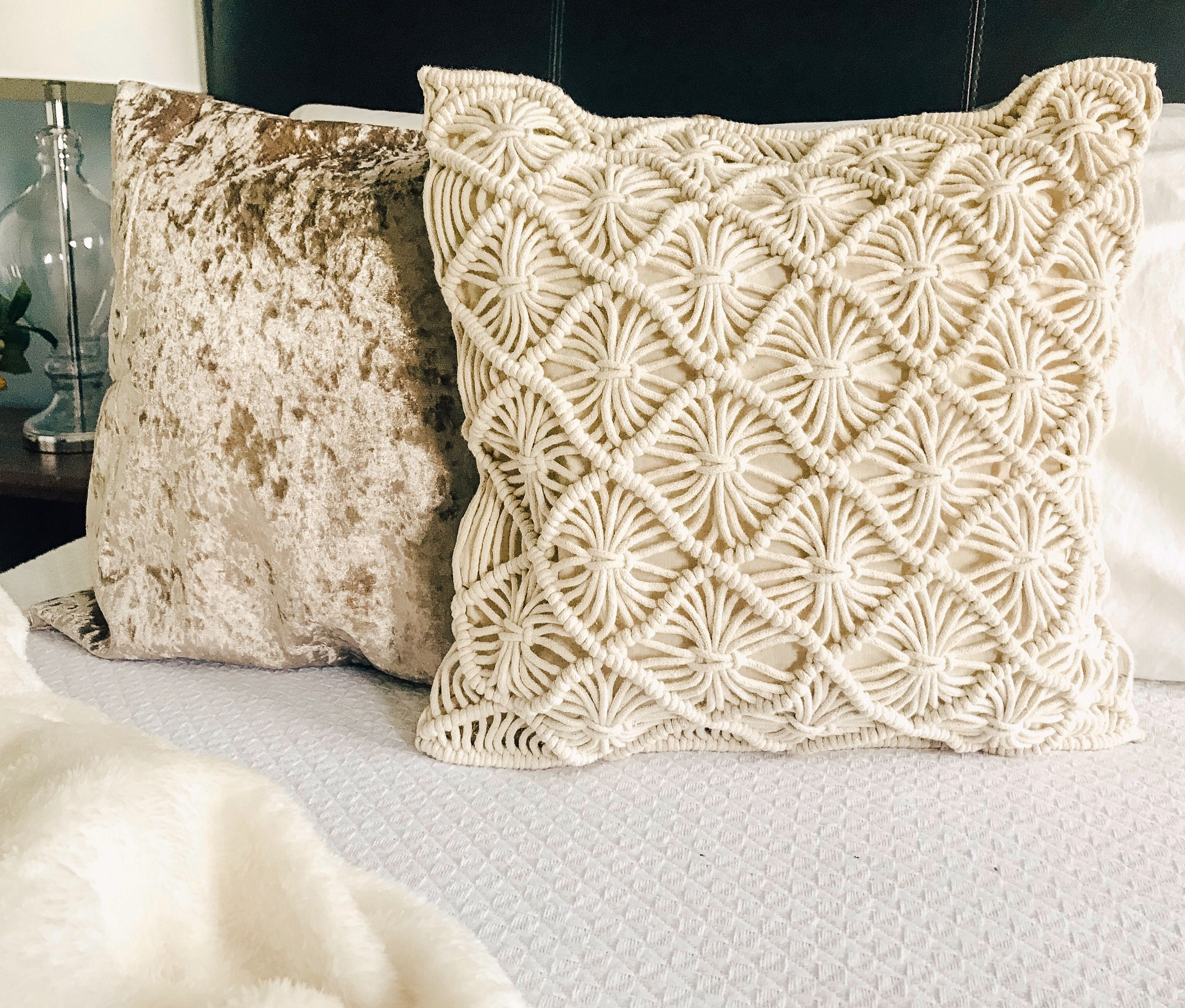 Throw Pillows Are A Great Way To Add And Mix Textures (Pillows from Busa Designs) | Handmade pillow covers, Pillow texture, Pillows