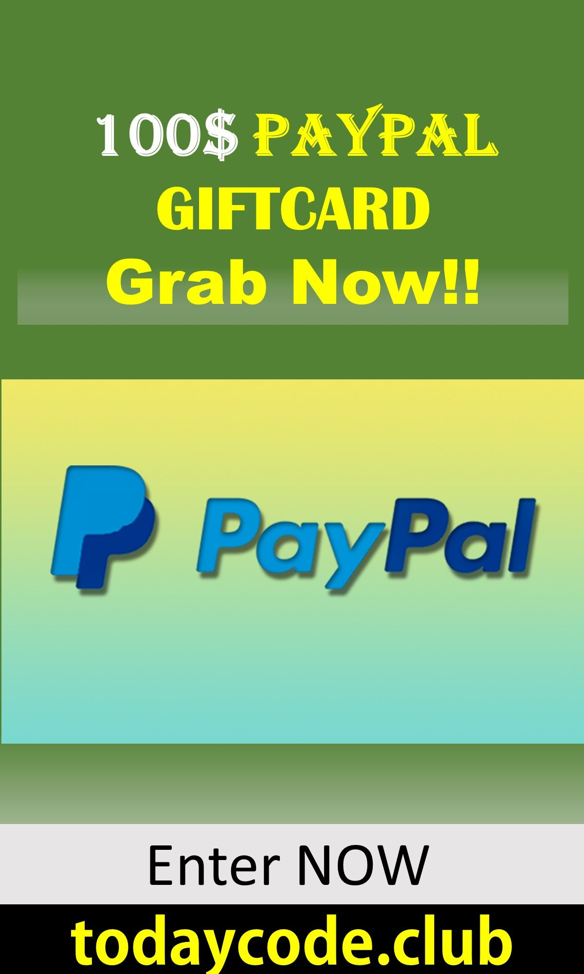 Win a 1000 PayPal Gift Card Giveaway !!!! It's trusted