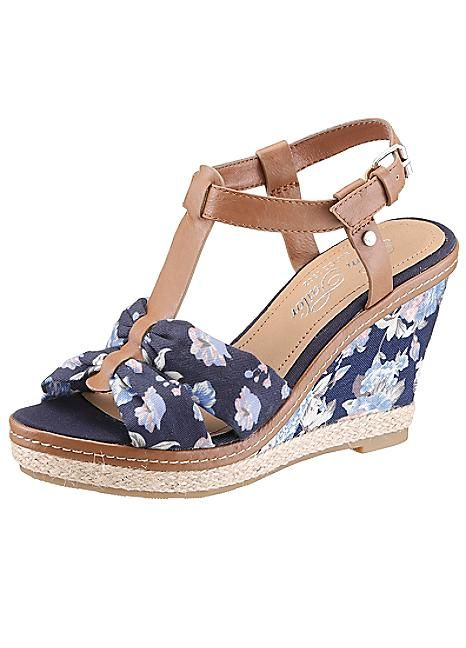 the best attitude 00b6a 433e1 Tom Tailor Floral Wedge Sandals | SUMMER 2016 | Floral ...