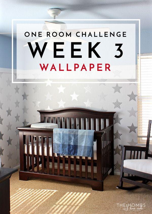 One Room Challenge Week 3 Wallpaper Installation How To Install Wallpaper Kids Room Inspiration Wallpaper Project One room challenge week 3