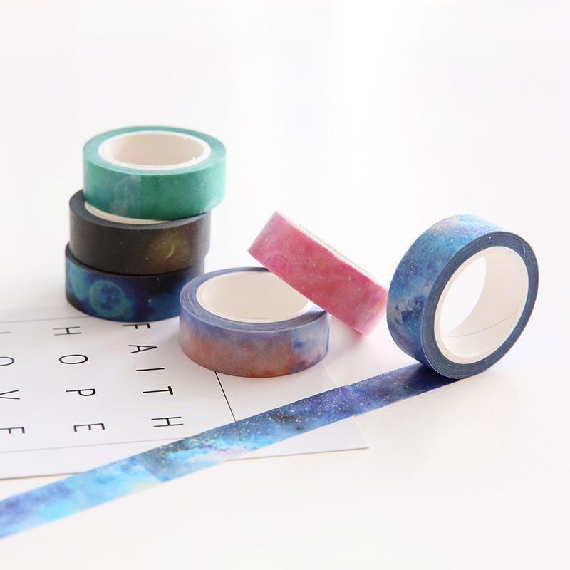 Encontrar Mas Cinta Adhesiva De La Oficina Informacion Acerca De 7 Unids Lote Sueno Pegatinas Enmascaramiento De Pap Washi Tape Ideas Washi Albumes De Recortes