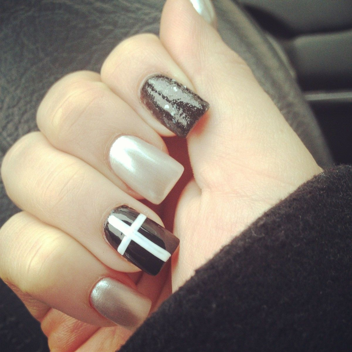 hipster pointy nails - photo #7