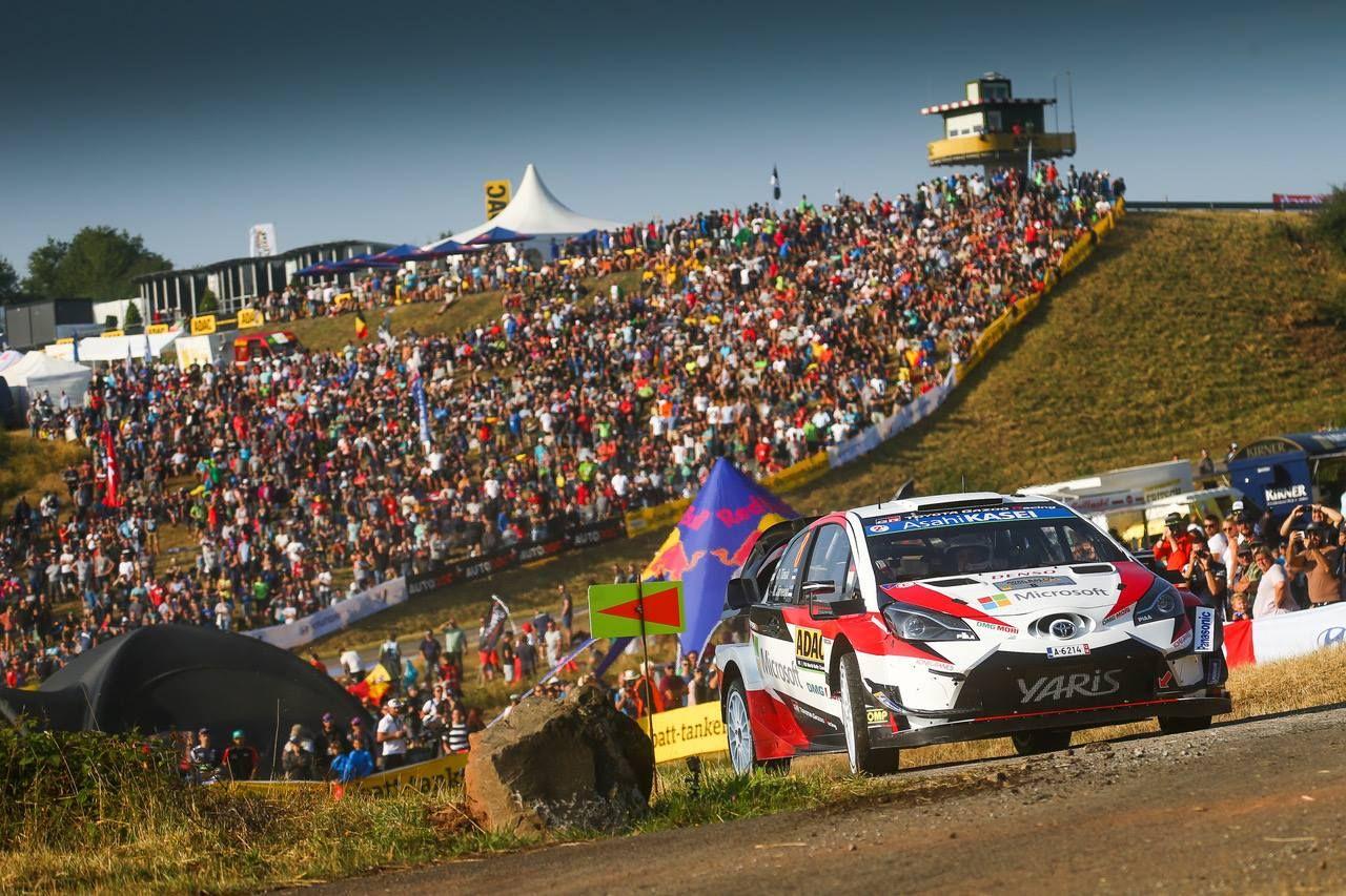 Rallye Allemagne 2018 Tanak encore ! Rallye, Rallye