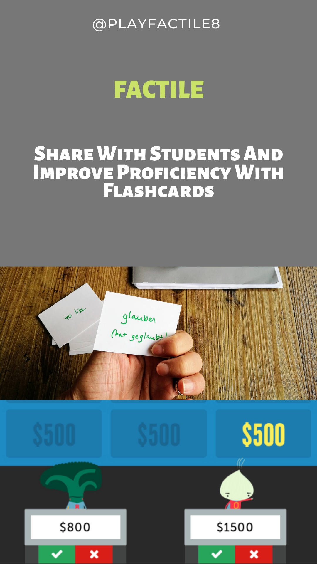 Share With Students And Improve Proficiency With