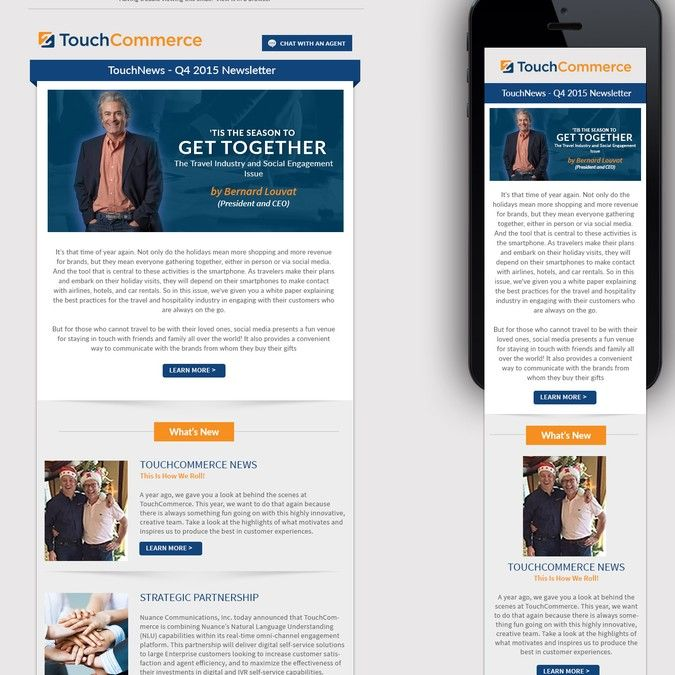 Email Newsletter Template By Thecreatv Email Design Pinterest - Email ad template