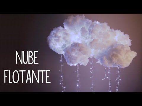 decora tu cuarto con una nube flotante estilo tumblr fcil tutoriales belen youtube