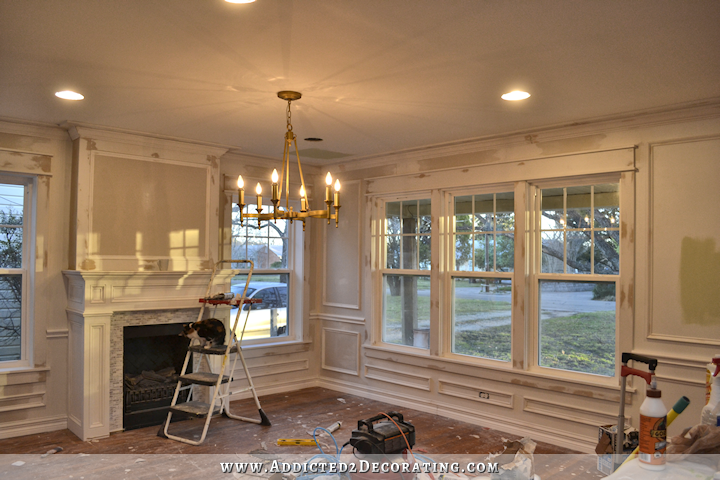 Dining Room Walls – Three Paint Options   Mill work, Third and Moldings