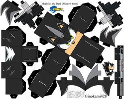 deviantART: More Like Tails the Fox Papercraft Page 1 by ~XChosenOne1
