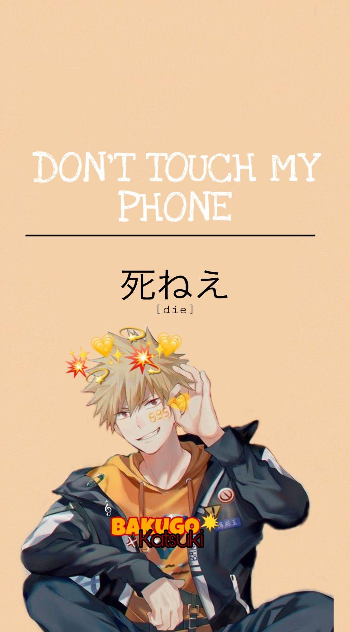 Bakugou Katsuki Wallpaper Cute Anime Character Cute Anime Wallpaper Anime Wallpaper Phone