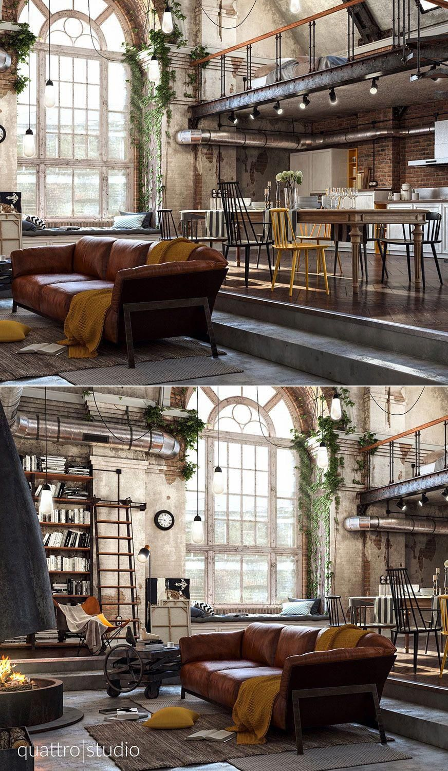 Home designing  via incredible lofts that push boundaries also rh pinterest