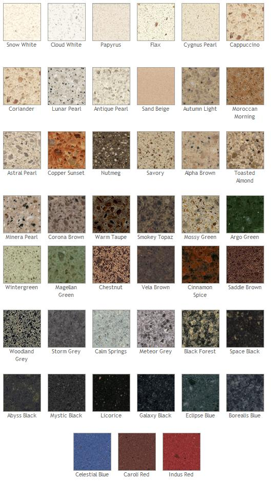 Types Of Granite Countertops Colors, Kitchen Countertop Prices Granite  Countertops Colors In Kitchen Countertops Style   Home Inspiration Media