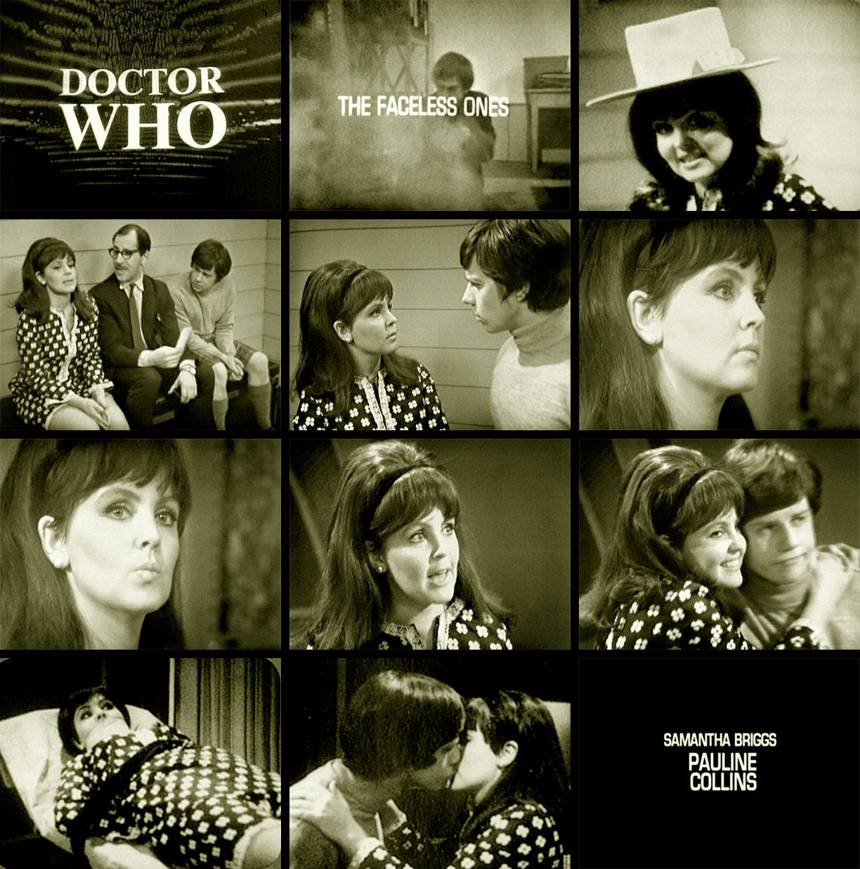 In 1967 Pauline Collins Played Samantha Briggs In The Doctor Who