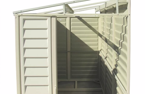 Assemble Your Own Shed With Duramax Duramax Sheds Vinyl Sheds Backyard Storage