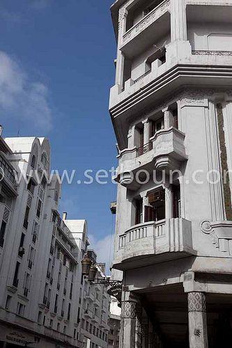 Morocco Casablanca Art Deco Architecture Art Deco