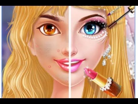 Fun care princess makeover beauty makeup hair salon kids girls fun care princess makeover beauty makeup hair salon kids girls games gloria ice salon who says barbie is the queen of fashion as a fancy babe yourself solutioingenieria Images
