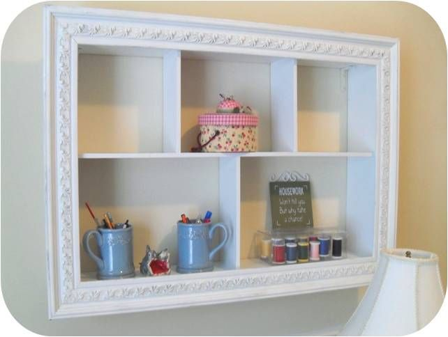Shabby Chic Diy Picture Frame White Paint Boards Adorable Shelf Http Odetomyabode Com Tat Shabby Shabby Chic Diy Crafts Shabby Chic Diy Diy Furniture