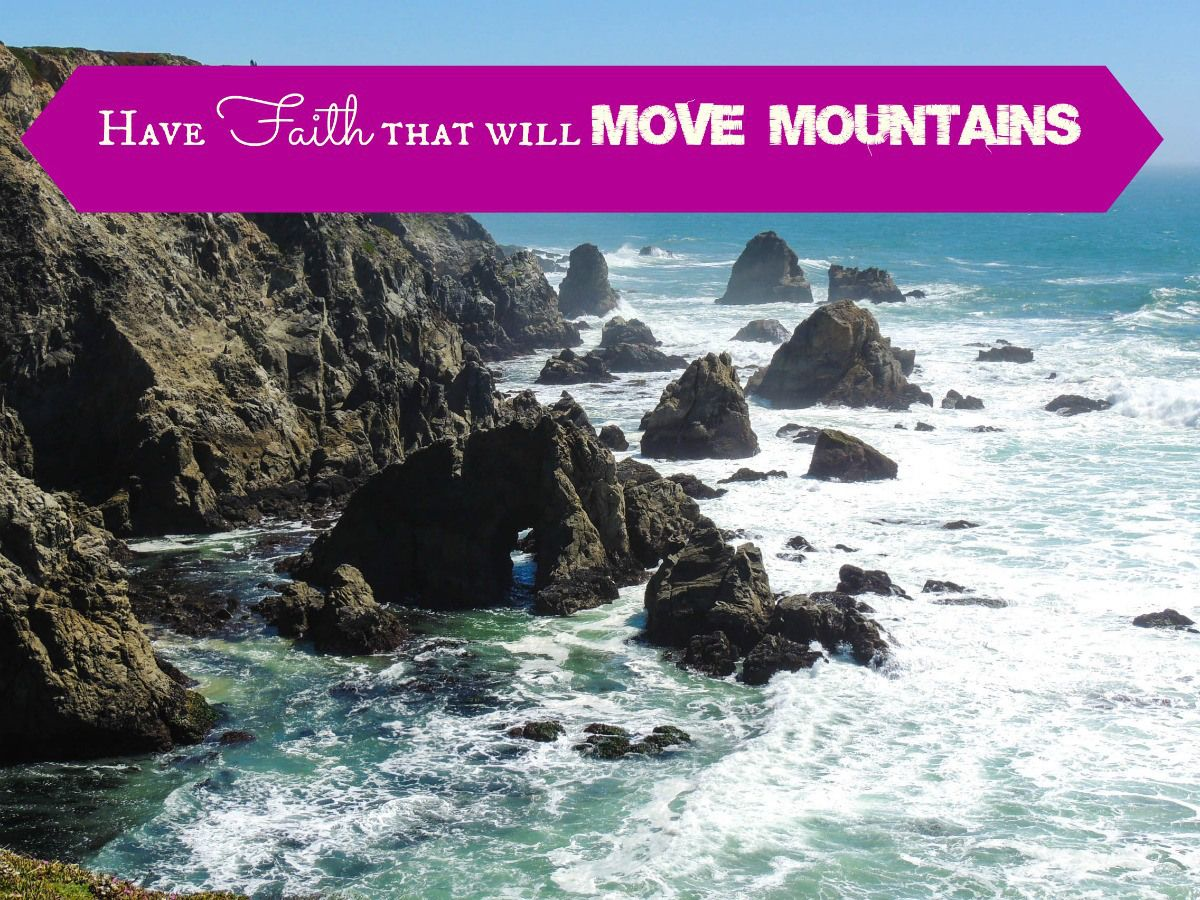 Blind Faith to Move Mountains. Join us for another Friday Faith Walk.
