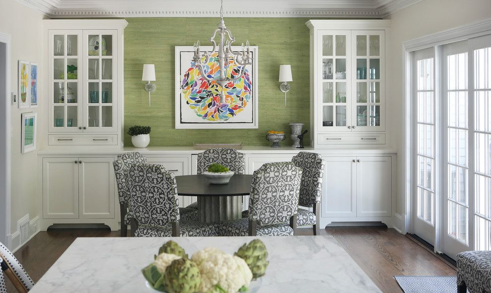Built In Buffet Cabinet Ideas Dining Room Transitional With White Dining Room Accents Dining Room Remodel Dining Room Storage