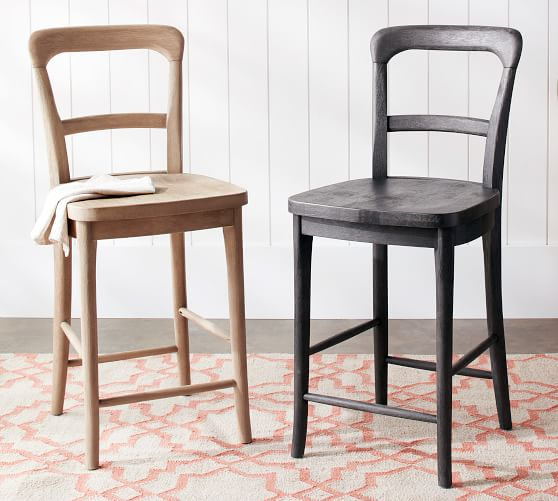 Cline Counter Stool In 2020 Wood Counter Stools Counter Stools