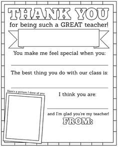 Free Printable  And Gift Ideas  For Teacher Appreciation Week