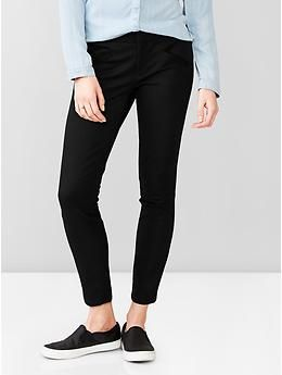 Women s black skinny dress pants