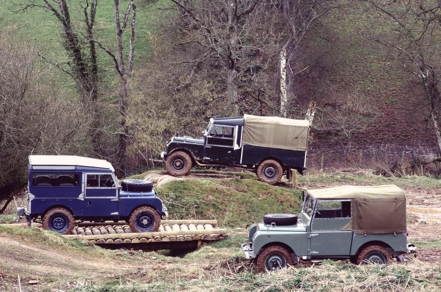 Land Rover Series One Soft Top Canvas
