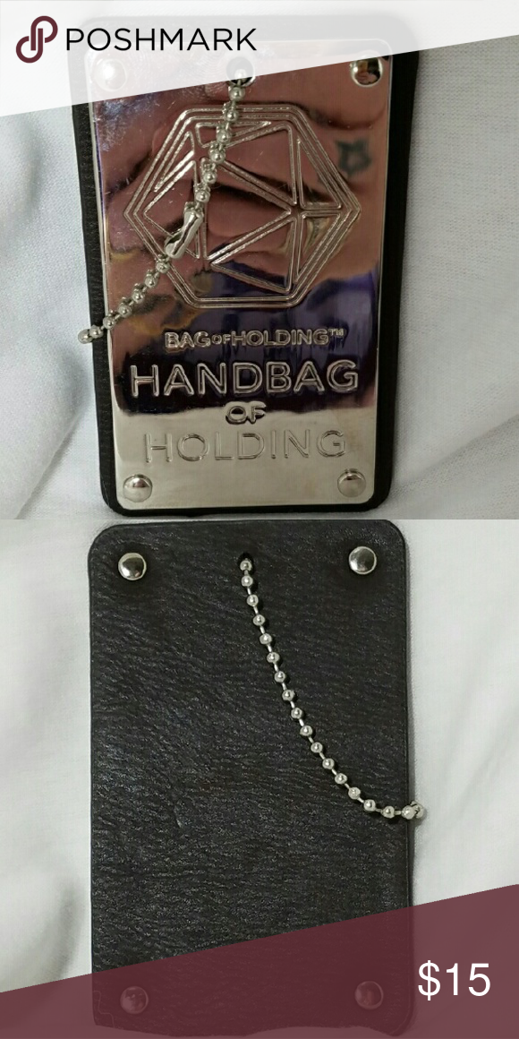 d34f7b03a4be HANDBAG OF HOLDING Bag Hang Tag Bling Brand  Bag of Holding Item    Replacement