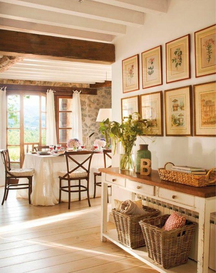 ▷ 1001 + conseils et idées de déco campagne chic fantastique Room - rangement salle a manger