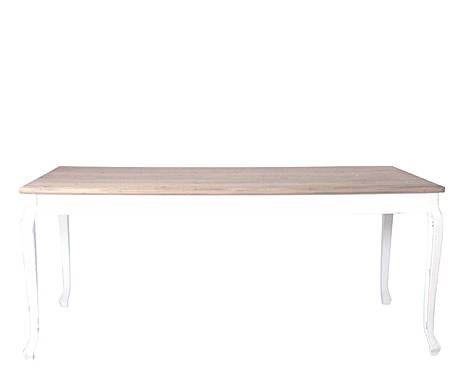 OUTLET DE PIEZAS PRÁCTICAS: Mesa en madera – blanca y marrón ...