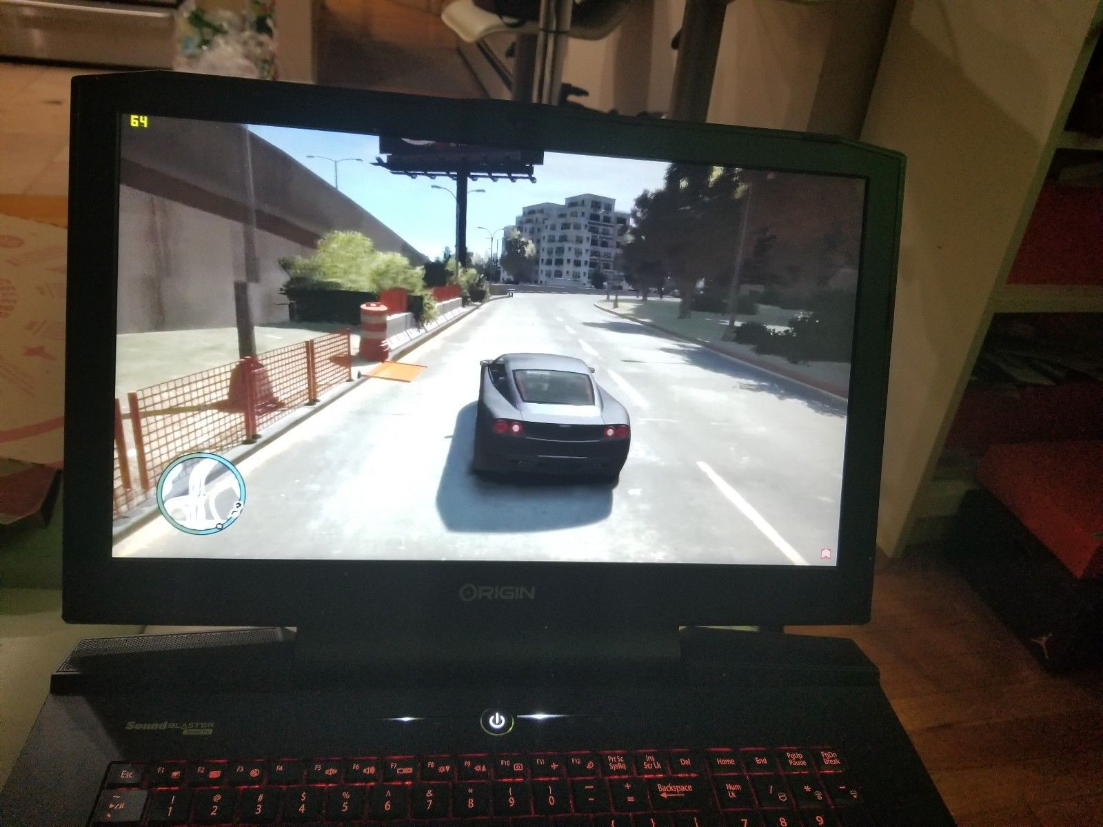 Origin Gaming Laptop EON17 SLX GTX 1080 32GB RAM 750 GB EVO HD i7