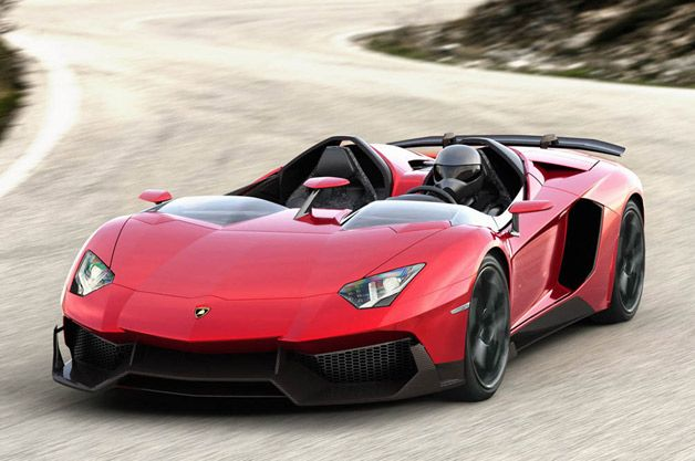 Lamborghini Aventador J Roadster. A car that tells you to go #fuck yourself twice over.